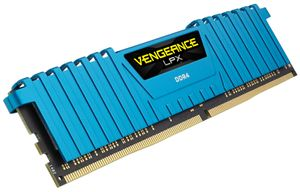 Vengeance LPX Series blau DDR4-2666,  CL16 - 32 GB Kit