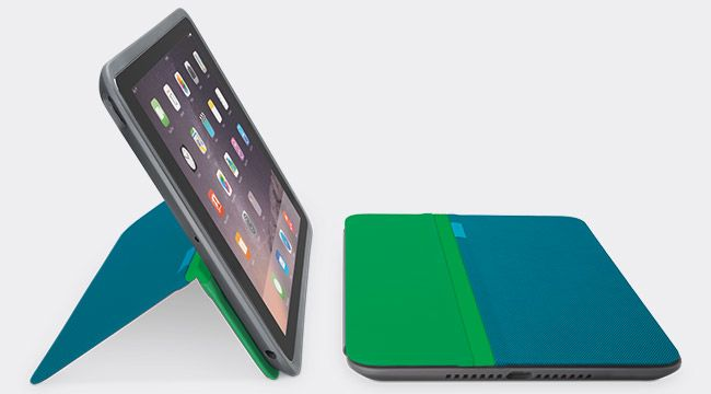 LOGI AnyAngle Protective Case iPad GREEN