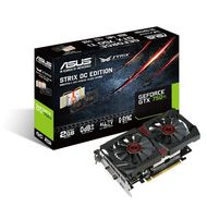 "ASUS GeForce STRIX GTX 750Ti 2GB PhysX PCI-Express 3.0, ""DirectCU II OC"", GDDR5, DL-DVI-I, DP, HDMI (STRIX-GTX750TI-OC-2GD5)"