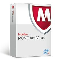 MCAFEE MOVE Anti-Virus for Virtual Servers - Lisens + 1-års Gold Business Support - 1 OS-forekomst - Associate - Nivå A (1-25) - Win - Engelsk (MOVCKE-AT-AA)