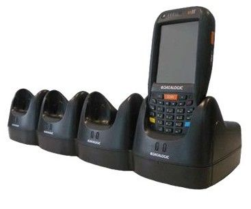 Datalogic Multi Ethernet dock FalconX3, 4 Terminals/ Spare Battery, PowerSupply,  order Power Cord