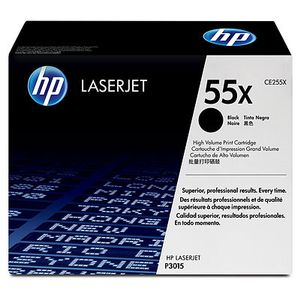 HP Toner HP CP3010 Contract black    CE255X   12500 sidor (CE255XC)
