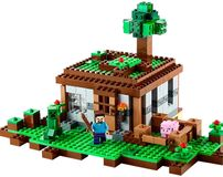 LEGO Minecraft 21115 The First Night - Steves Haus