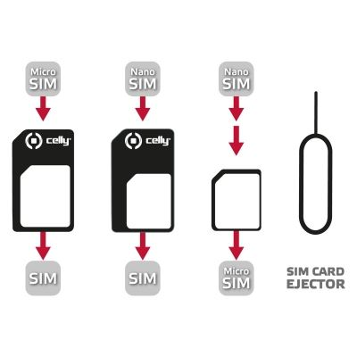 (UNIVERSAL KIT SIM CARD W/ CLIP)