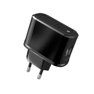 CELLY (TRAVELCHARGER 2.1A TWO USB BK) (TCUSB22)