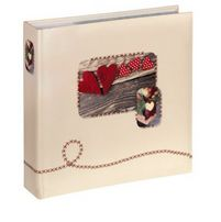 Isny Slip-In Album    10x15 200 photos, red 10694