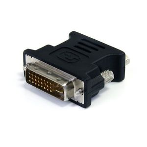 STARTECH DVI to VGA Cable Adapter - Black - M/F	 (DVIVGAMFBK)