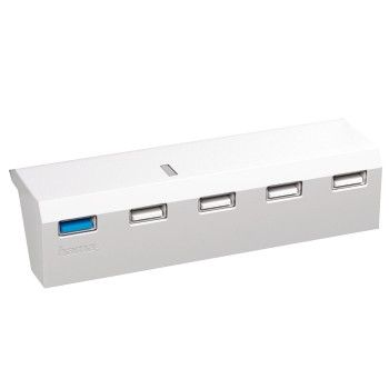 USB HUB 5-Port white for PS4 115446
