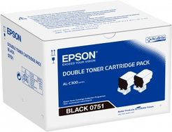 EPSON Toner/ WorkForce AL-C300 Black Dbl Cart (C13S050751)