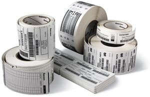 TT 60 PAPER 50 8 X 25 4 MM 5330 LABELS PER ROLL/BOX OF 8