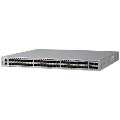 Brocade BR-VDX6740-24-R 24 SFP+ Ports Port Side Exhaust Airflow Switch