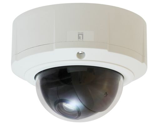 H.264 5MP FCS-4044 P/T/Z POE WDR IP DOME CAM TAA