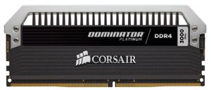 CORSAIR Dom Plat 32GB DDR4 4x288, 3000MHz (CMD32GX4M4B3000C15)