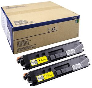 BROTHER TN-329YTWIN TONER YELLOW F/