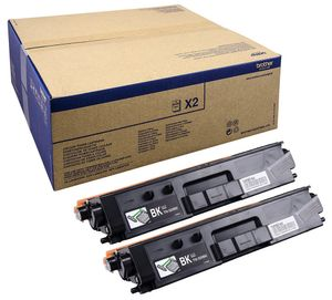 BROTHER TN-329BKTWIN TONER BLACK F/