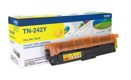 BROTHER TN-242 YELLOW TONER FOR