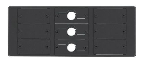 KRAMER TBUS-6xl Inner Frames 9 Insert Slots (Includes 6 Blank & 3 Cable Pass-Through Inserts) (T6F-09)