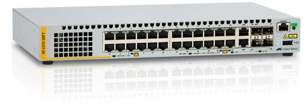 AT-X310-26FT-50 L2+ SWITCH 24 PORTS 10/ 100MBPS              IN CPNT