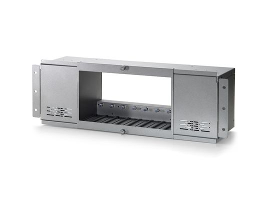 8-BAY MEDIA CONVERTER CHASSIS F/ 8 VDS-0200/ -0201/ -0202 ACCS