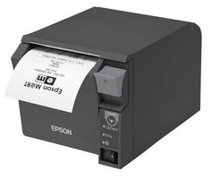 EPSON TM-T70II (972A0): BLUETOOTH BUILT-IN USB  PS  BLACK  UK IN (C31CD38972A0)