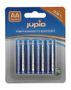 JUPIO AA Alkaline batteries,  4-pack, LR6, 1.5V, non-rechargeable,  blue