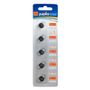 JUPIO JCC-LR44, Alkaline, Button/coin, 1,5V