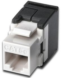 CAT 5E KEYSTONE JACK UNSHIELDED RJ45 TO LSA TOOL FREE CONNECTION ACCS