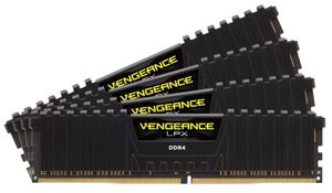 16GB (4-KIT) DDR4 3000Mhz Vengeance LPX Black CL15