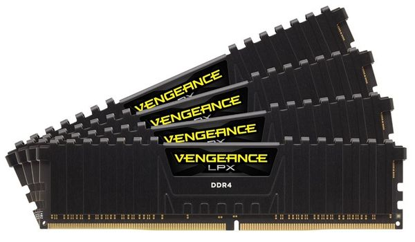V LPX 16GB DDR4 Red 4x288, 2133MHz