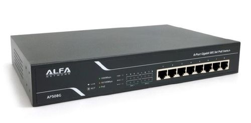 Alfa Network APS08G 8-port 802.3 Gigabit PoE (APS08G)