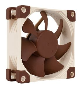 NOCTUA NF-A8 FLX 80mm Vifte 80 x 80 x 25 mm, 1200~2000 RPM, 28,9~50,4 m³/h, 7,9~ 16,1 dBA, 3-pin (NF-A8 FLX)