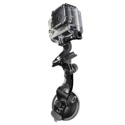 suction cup mounting for GoPro