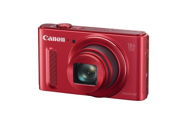 POWERSHOT SX610 HS RED 20.2MP 18X ZOOM IN
