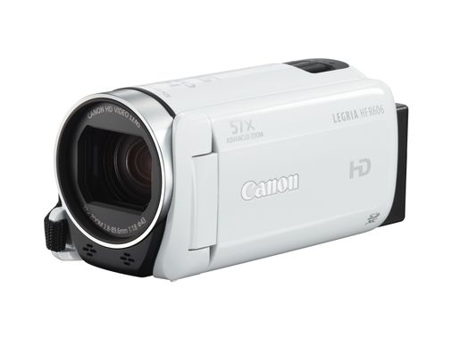 Legria HF-R606 Hvit 57X Zoom, Full HD, Baby mode, Slow and fast recording,  AVCHD /MP4