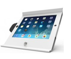 Slide Enclosure iPad Air POS Stand White