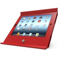 Slide Enclosure iPad Air POS Stand Red