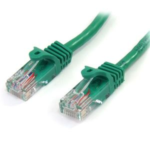 "STARTECH ""Cat5e Patch Cable with Snagless RJ45 Connectors - 2m, Green""	 (45PAT2MGN)"