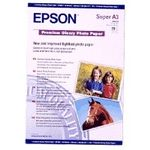 EPSON A3+ Premium Glossy Photo Paper, 255gr 457x305mm **20-pack** (S041316)