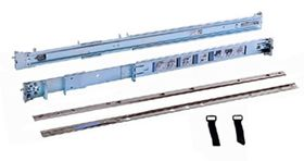 1U/2U Static Rails for 2-Post and 4-Post Racks_Customer Kit