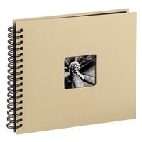 Fine Art  Spiral taupe 28x24 50 black Pages 113681