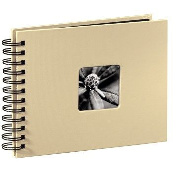 Fine Art  Spiral taupe 24x17 50 black Pages 113675