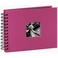 Fine Art  Spiral pink 24x17 50 black Pages 113674