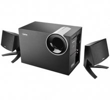 M1380 2.1ch black multimedia speakers