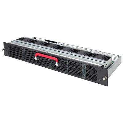 FlexFabric 7910 Front (Port Side) to Back (Power Side) Airflow Fan Tray