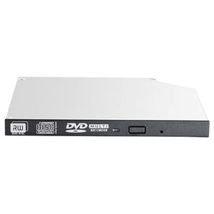 Hewlett Packard Enterprise 9.5mm SATA DVD-RW JackBlack Gen9 Optical Drive (726537-B21)