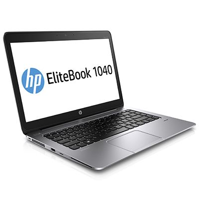 "EliteBook Folio 1040 G2 - Core i5 5300U / 2.3 GHz - Windows 7 Pro 64-bitar/ Windows 8.1 Pro nedgradering - förinstallerad: Windows 7 - 8 GB RAM - 256 GB SSD - ingen optisk enhet - 14"" 1920 x 1080 ("