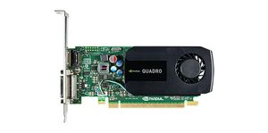 DELL Nvidia Quadro K620 2GB Half Height (DP, DL-DVI-I) (1 DP to SL-DVI adapter) (KIT) (490-BCIW)