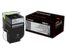 LEXMARK Black High Yield Toner Cartridge