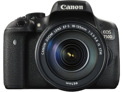CANON EOS 750D 18-55MM IS STM (0592C022)