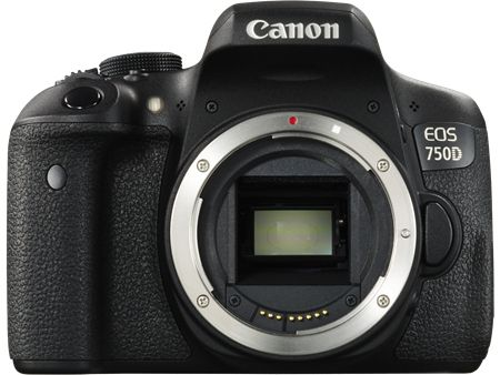 EOS 750D BODY 24.2MP WIFI 19-POINT-AF 1080P MOVIE          IN CAM